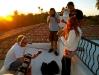Kallie On Set Balcony Filming 'Dark All Around' (2011 - Phoenix, AZ)
