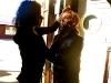 Kallie - Make-Up On Set Filming \'Dark All Around\' (2011 - Phoenix, AZ)