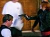 Kallie With Prisoner On Set Filming \'Dark All Around\' (2011 - Phoenix, AZ)