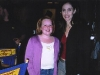 Kallie With Amy Brennemen On The Set Of Judging Amy (2003)